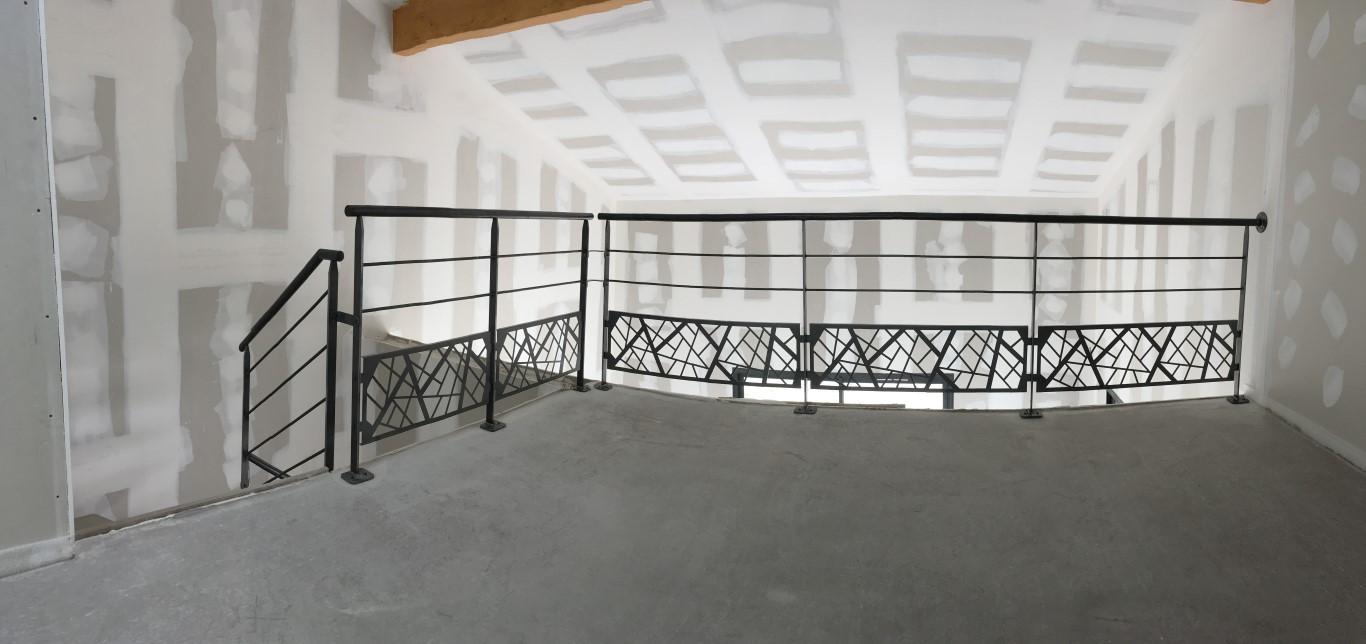 Garde-corps mezzanine