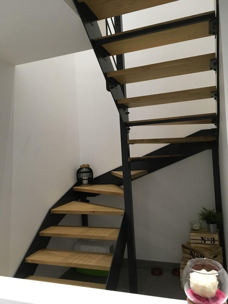 Escalier moderne maison