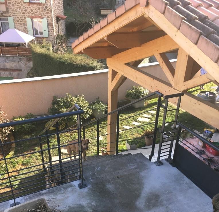 Garde fou terrasse