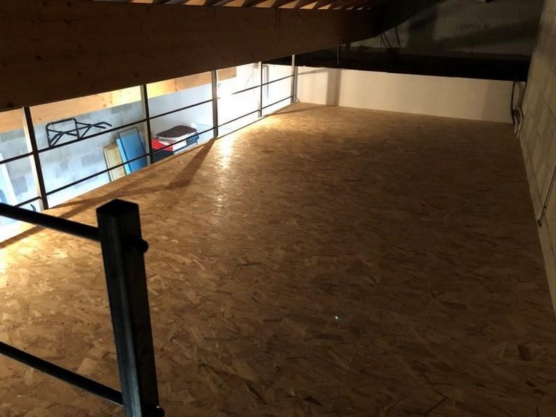 Mezzanine de garage ou de box de stockage en métal prête à poser - Metablok